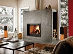 FP7 Antoinette - Qualified Clean Burning Decorative Fireplace