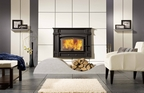 FP8 Saguenay - High efficiency wood burning fireplace