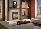 FP10 Lafayette - High efficiency wood burning fireplace